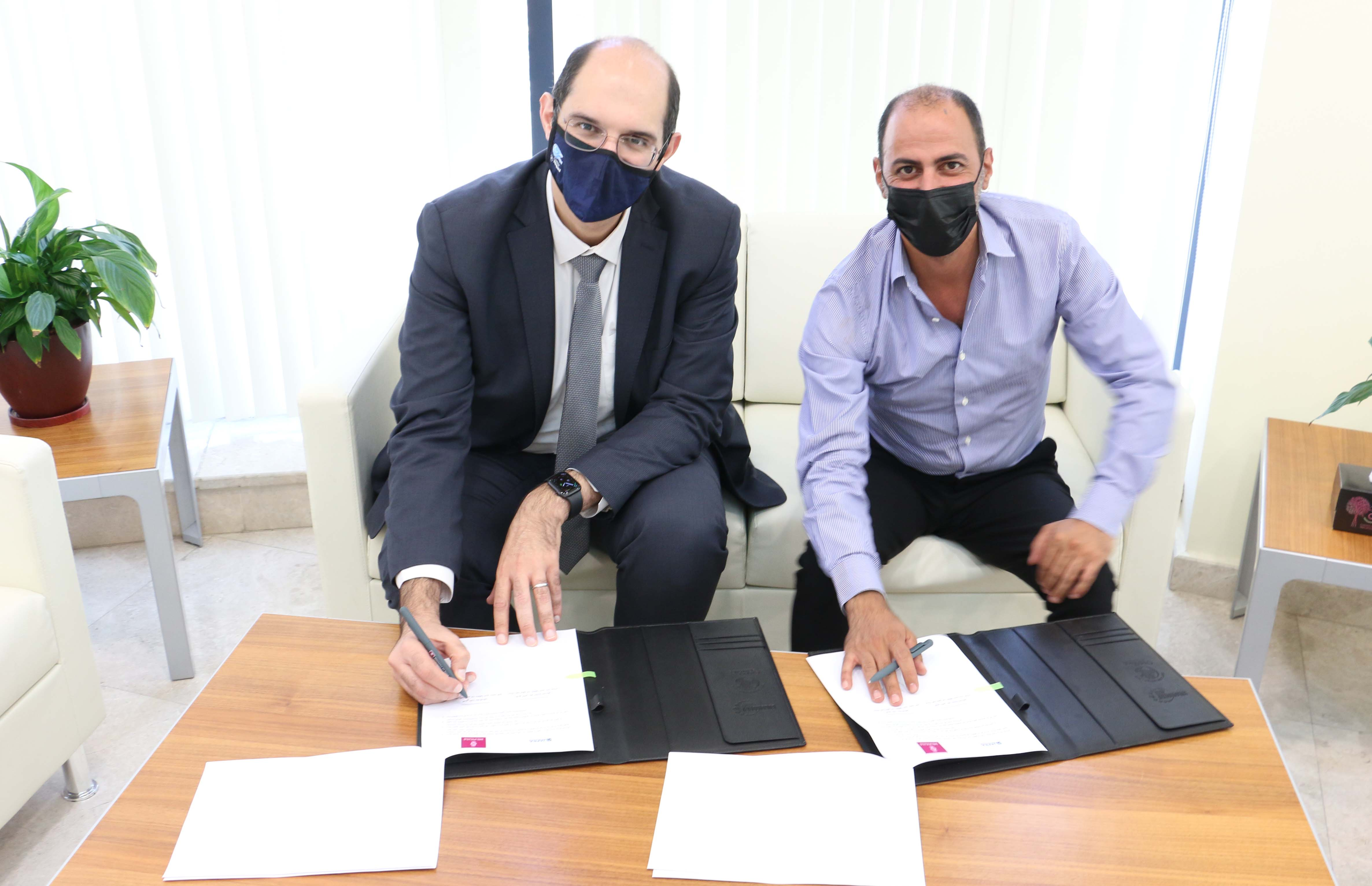 Bank of Palestine and Jafra sign and agreement for the development of the Palestinian music industry with an aim to sponsor Ghazal project and music leadership