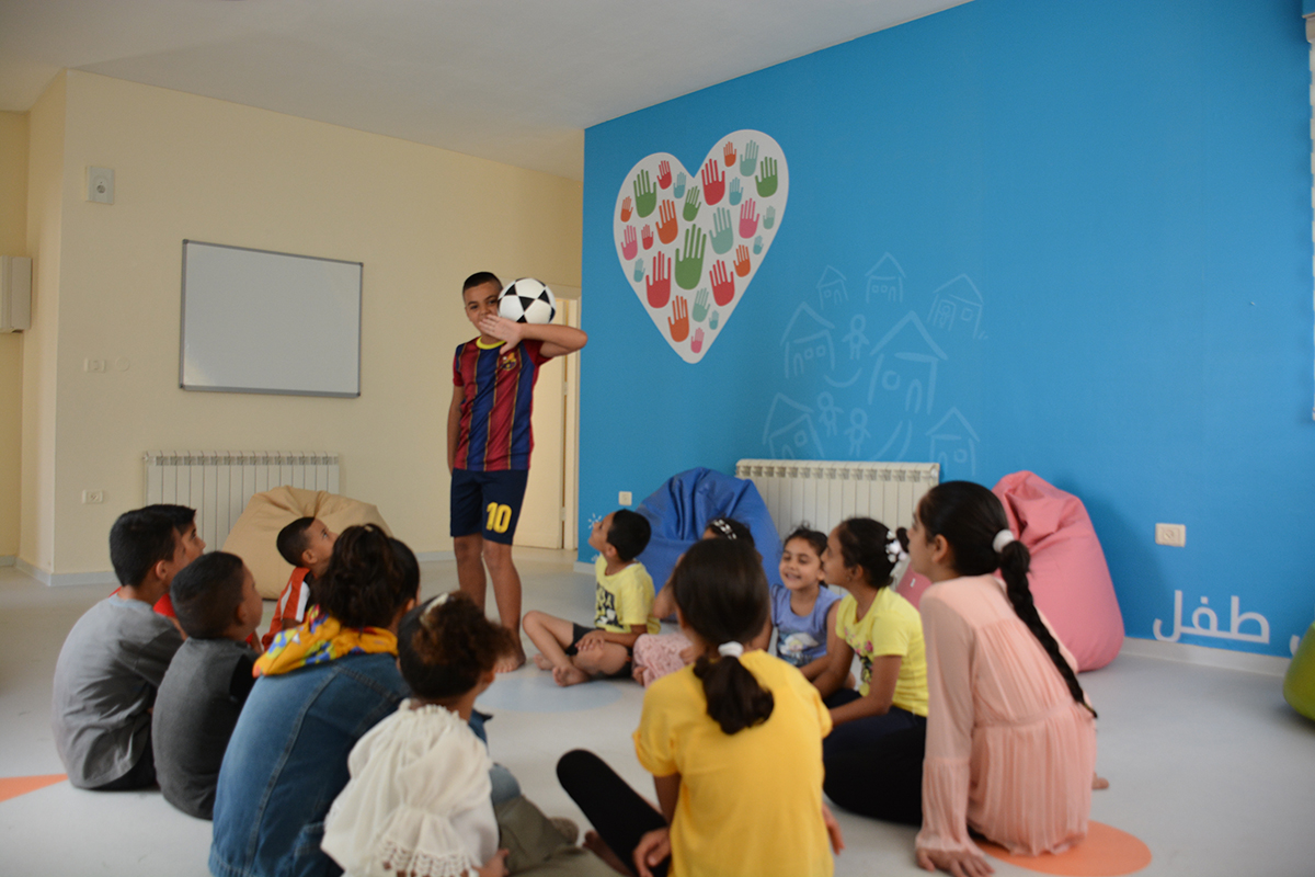 Bank of Palestine innaugurates the Child-Friendly Space project at the SOS Village in Bethlehem as part of its sustainable social development initiatives